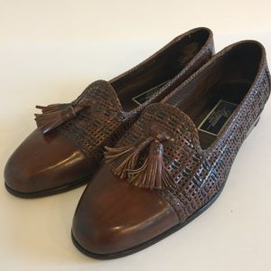 Cole Haan Bragano Woven Loafer Shoes 9.5